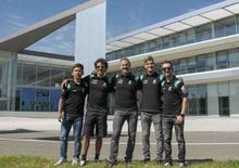 Petronas: Morbidelli, Quartararo, McPhee e Sasaki a scuola di fluidi