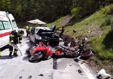 Incidenti in moto: un'estate terribile