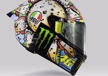 Valentino Rossi: un casco per... mangiarsi Misano