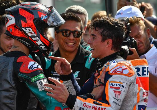 MotoGP 2019 a Misano. Le parole dei piloti a podio