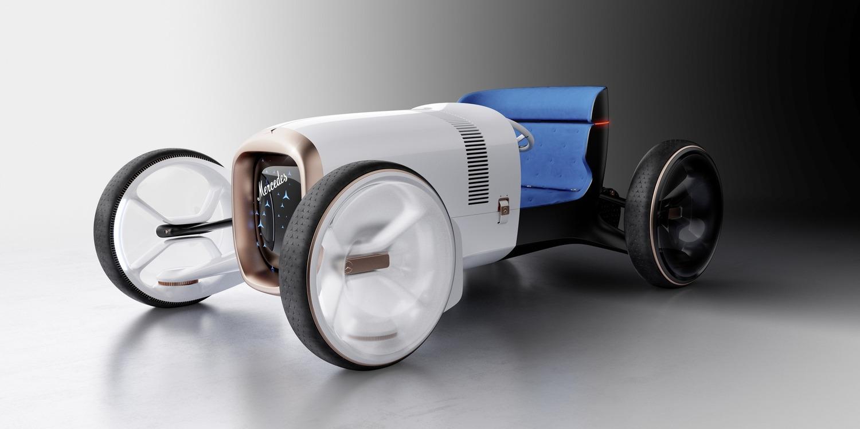 Vision Mercedes Simplex: omaggio al passato, pensando al futuro