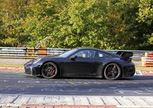 Nuova Porsche 911 GT3: che sound al Ring! [Video spia]
