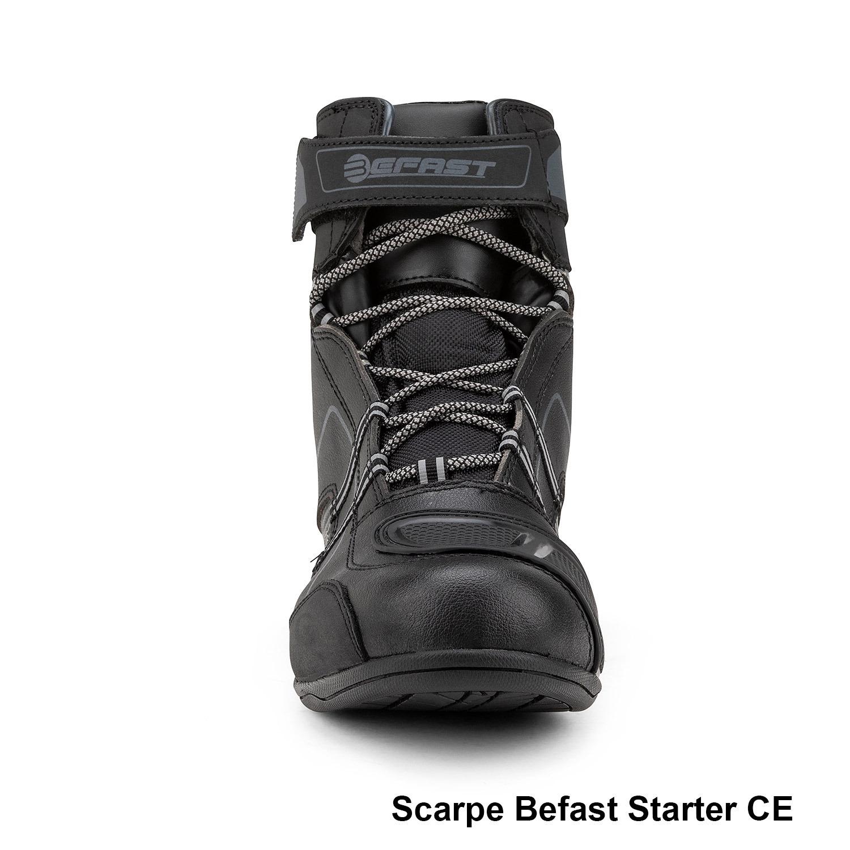 Befast: nuove scarpe moto certificate