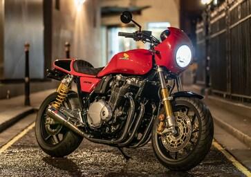 "Honda CB1100 RS ""5Four"". Serie limitata targata UK"