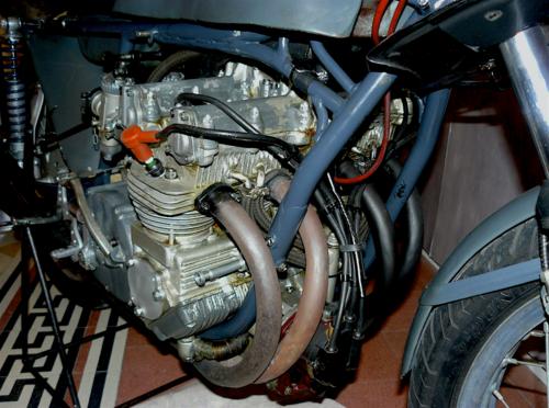 Benelli 250 GP: la quattro cilindri di Pesaro (4)