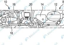 BMW brevetta un nuovo anti furto meccanico per le moto