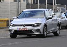 Volkswagen Golf GTE, le foto spia