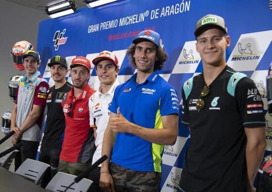 MotoGP. Rossi collaudatore, Dovizioso infastidito, Zarco umano