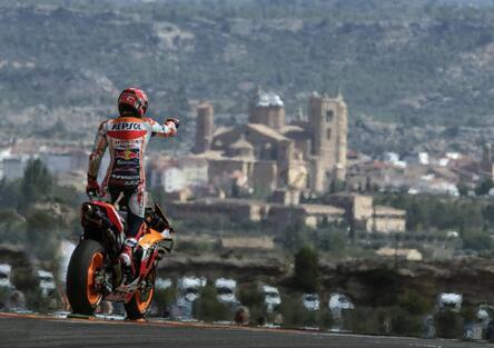 MotoGP 2019. Marc Marquez conquista Aragon