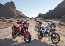 Nuove Honda CRF1100L Africa Twin e Adventure Sports 2020: foto e dati. Prezzi