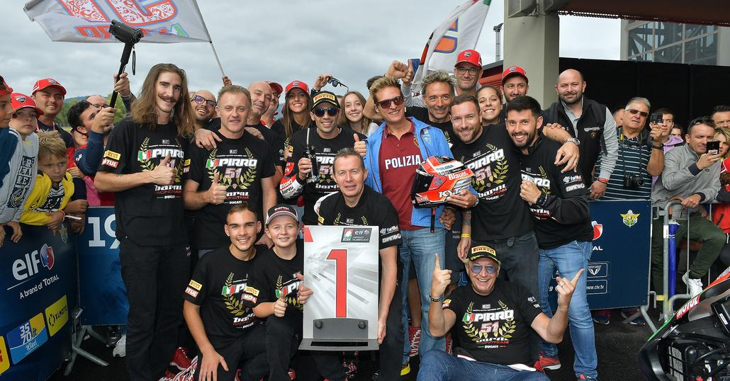 CIV, Mugello: Pirro vince il titolo Superbike