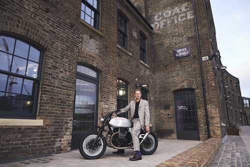 Moto Guzzi V7 Tomoto al London Design Festival  (4)