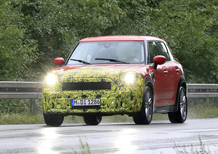 Mini Countryman restyling, le foto spia