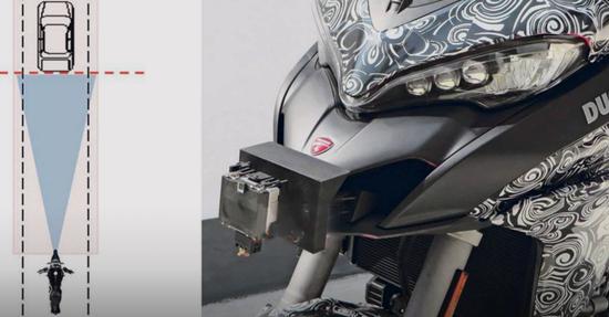 La Ducati Multistrada 1260 GT sarà dotata di radar, il primo passo verso l'interconnessione?