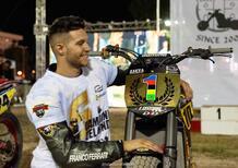 Zaeta campione del mondo Flat-Track