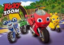 Le moto arrivano su RAI Yoyo con Ricky Zoom