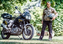 Honda Africa Twin 750 RD07: Test YoungTimer. L'ultima col V2