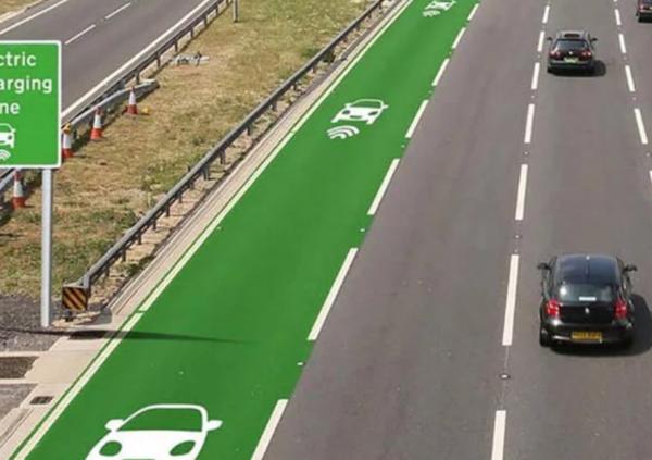 In arrivo le strade che ricaricano i veicoli anche in movimento