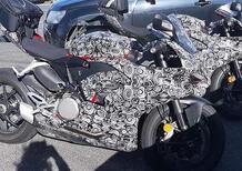Nuova Ducati Panigale 959 2020, foto spia