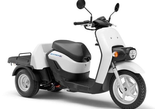 """Honda """"Benly e:"""" e """"Gyro e:"""" Prima mondiale a Tokyo"""