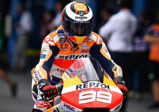 MotoGP in Thailandia. Jorge Lorenzo: Così non si può continuare