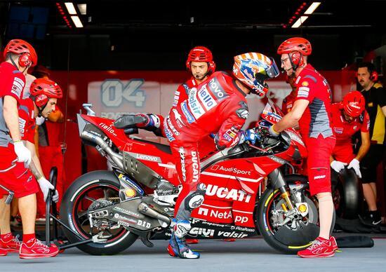 MotoGP in Thailandia. Andrea Dovizioso: Marquez ha stracciato tutti