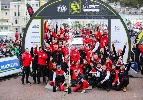 WRC 2019 Galles. Ott Tanak e Toyota Spietati! (8)