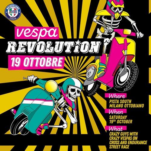 Vespa Revolution. European race: pista e cross! (4)