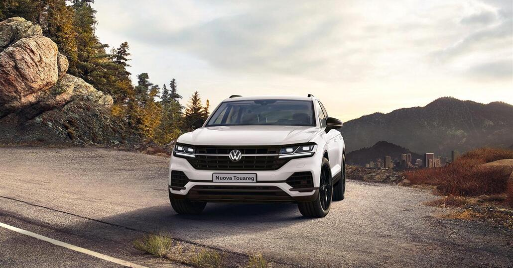 Volkswagen Touareg Black Style: edizione dedicata all'Italia