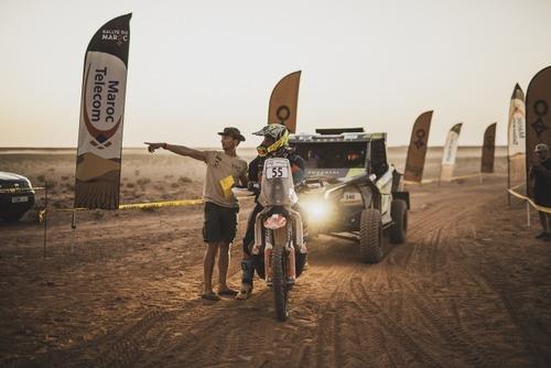 Rally del Marocco. Andy Short per doppietta Husqvarna, Giniel de Villiers per conferma Toyota (9)