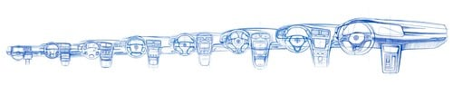 Volkswagen Golf 8: sarà presentata il 24 ottobre. I primi bozzetti ufficiali (4)
