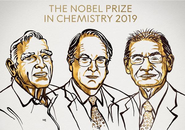 Nobel ai padri delle batterie Li-Ion, premio a un mondo ricaricabile