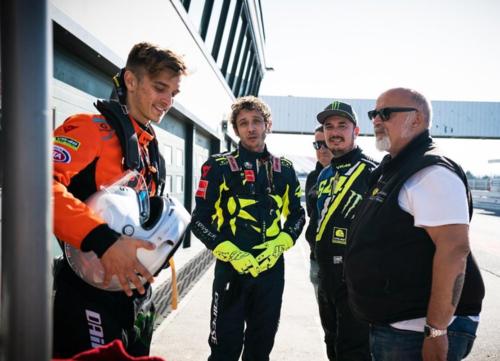 Valentino Rossi a Misano per un test con la Ferrari  (3)
