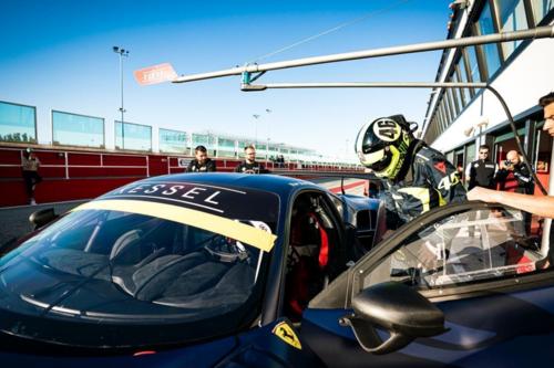 Valentino Rossi a Misano per un test con la Ferrari  (5)