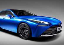 Toyota Mirai, la vettura ad idrogeno diventa una coupé