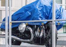 BMW R1800 C. Prime foto della mega boxer di serie: arriverà a Eicma?