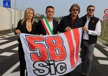 Inaugurata la via dedicata a Marco Simoncelli