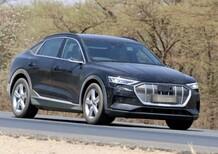 Audi e-tron Sportback: avvistata ancora [Foto spia]