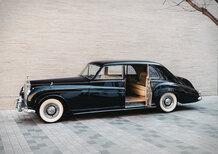 Rolls Royce Phantom V: la conversione dal V8 all'elettrico