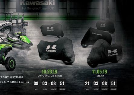 Kawasaki: cinque novità fra EICMA e Tokyo