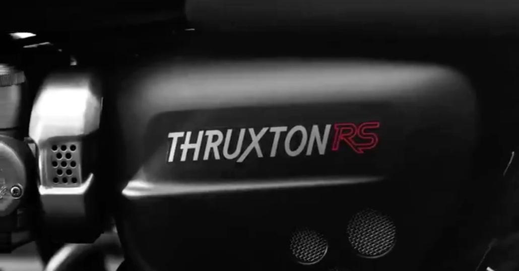 Nuova Triumph Thruxton RS, arriva a EICMA 2019