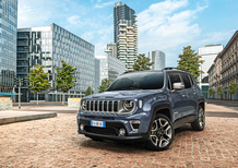 Jeep, a Melfi la produzione delle Renegade e Compass ibride