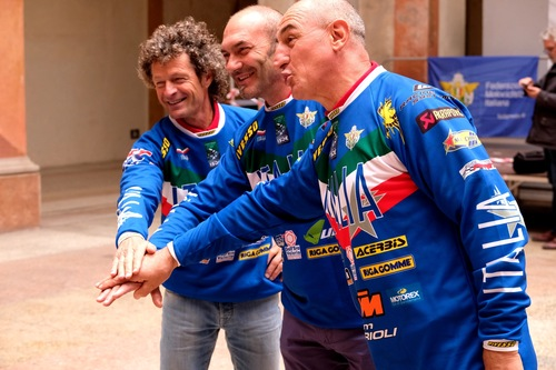 Sei Giorni di Enduro. Passeri, Rinaldi e Sala in sella in vista del Trofeo Vintage Veterans (2)