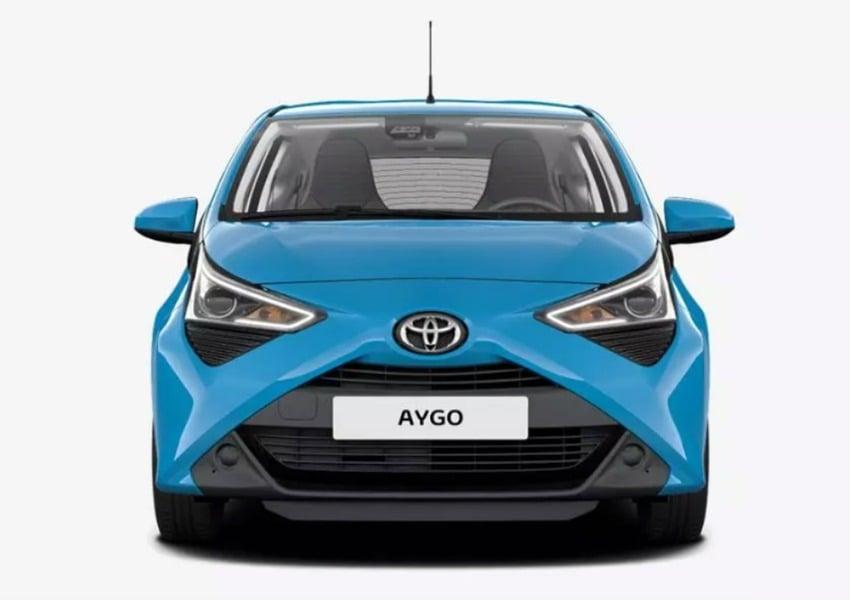 Toyota Aygo 1.0 VVT-i 69 CV 3 porte x-cool MMT (4)