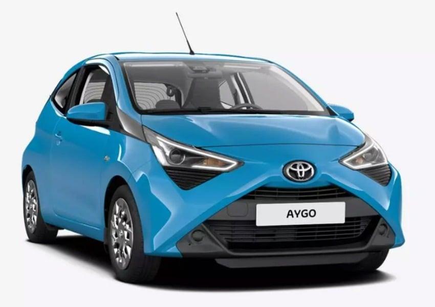 Toyota Aygo 1.0 VVT-i 69 CV 3 porte x-cool MMT (2)