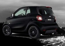 smart fortwo Berlin Black, la serie speciale total black
