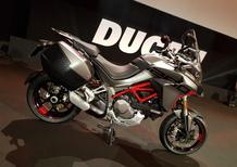 Ducati Multistrada 1260S Grand Tour: foto, dati e prezzi