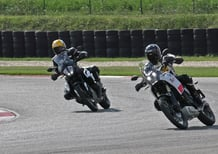Sfida in pista a 200 km/h: Yamaha Ténéré 700 vs KTM 790