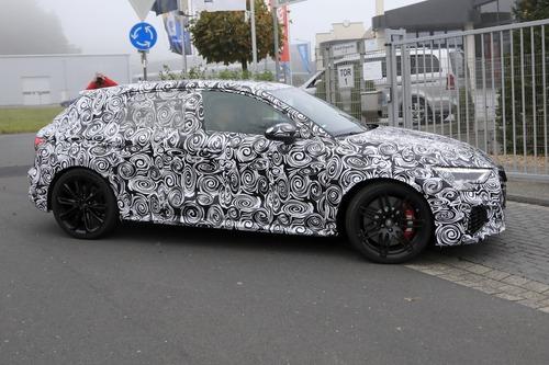 Audi RS3 2020, le foto spia (3)
