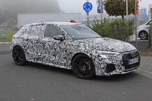 Audi RS3 2020, le foto spia (7)